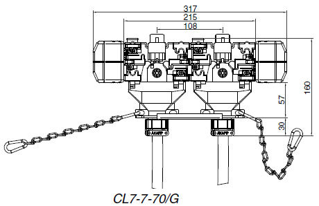 CL7 7 70 G drawing