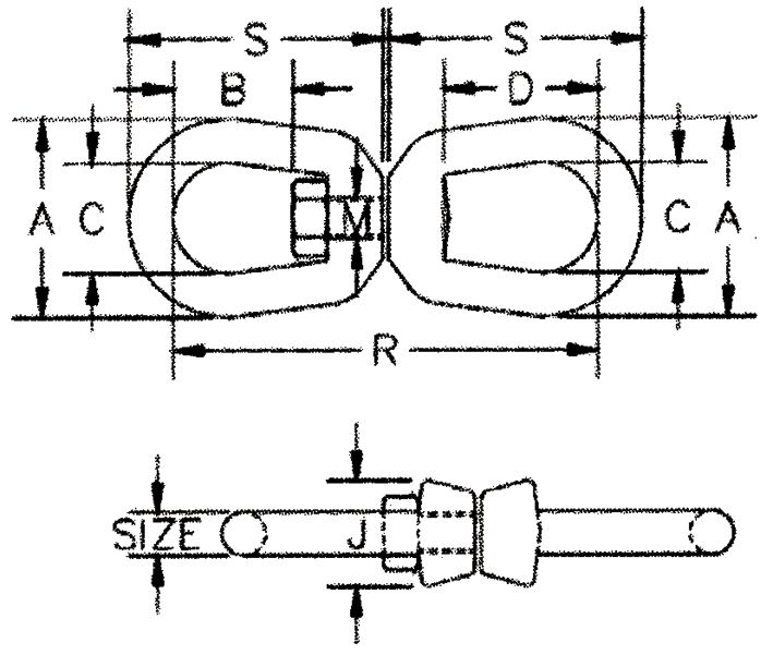 Drawing G-402 regular swivel